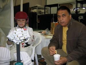 Vivek and Gavaskar